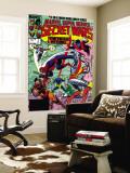 Secret Wars No3 Cover: Colossus  Nightcrawler  Spider-Man  Wolverine  Storm  Cyclops and X-Men