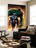 Ultimate Origins No5 Cover: Captain America and Hulk