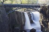 Footbridge Over The Great Falls  Paterson  NJ