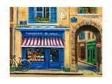 French Cheese Shop Reproduction d'art par Marilyn Dunlap