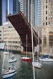 Washington Street Bridge Lift Chicago