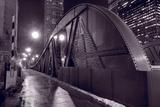 Steel Bridge Chicago BW