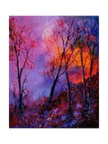 Magic Trees Reproduction d'art par Pol Ledent