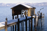 Boathouse on Lake Tahoe  California