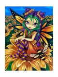 Sitting on a Sunflower