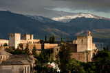 Alhambra With Serra Nevada