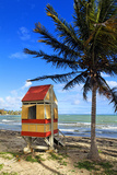 Lifeguard Hut on a Beach  Puerto Rico