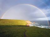 Rainbow Over Chimney Rock  California