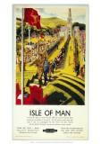 Isle of Man  Tynwald Hill  c1950