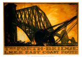 The Forth Bridge  LNER  c1923-1947