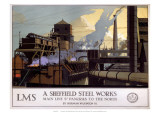 A Sheffield Steel Works  LMS  c1923-1947