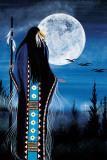 Evening Star Woman Reproduction d'art par Betty Albert