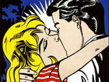 Kiss II, c.1962 Reproduction d'art par Roy Lichtenstein