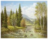 River Tisa By Rachov