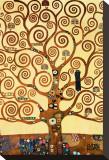 L'arbre de vie, 1909, fresque du Palais Stoclet Tableau sur toile par Gustav Klimt