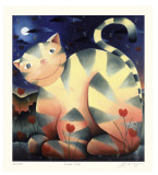 Love Cat Reproductions de collection premium par Mackenzie Thorpe