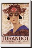 Puccini- Turandot Tableau sur toile