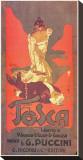 Puccini- Tosca Tableau sur toile par Adolfo Hohenstein