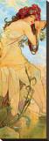 Eté Tableau sur toile par Alphonse Mucha