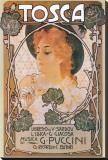 Puccini- Tosca Tableau sur toile par Leopoldo Metlicovitz