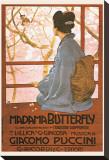 Puccini, Madama Butterfly Tableau sur toile par Leopoldo Metlicovitz