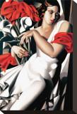 Portrait d'Ira Tableau sur toile par Tamara De Lempicka