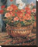 Bouquet de fleurs Tableau sur toile par Pierre-Auguste Renoir