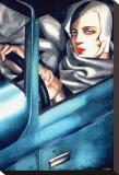 Autoportrait Tableau sur toile par Tamara De Lempicka