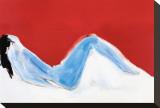 Nu rouge Tableau sur toile par Nicolas De Staël