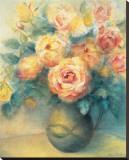 Roses Tableau sur toile par Edward Armitage