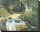 Le déjeuner Tableau sur toile par Claude Monet