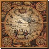 Cartographica II Tableau sur toile
