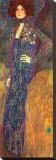 Emilie Floege Tableau sur toile par Gustav Klimt