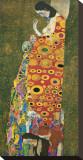 Die Hoffnung II Tableau sur toile par Gustav Klimt