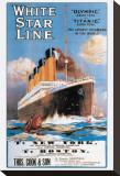 White Star Line, compagnie maritime Tableau sur toile