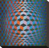 Squares Tableau sur toile par Victor Vasarely