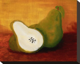 Country Pears Tableau sur toile par Petra Kirsch