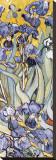 Irises, Saint-Remy, c.1889 (detail) Tableau sur toile par Vincent Van Gogh