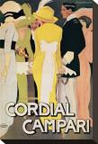 Cordial Campari Tableau sur toile par Marcello Dudovich