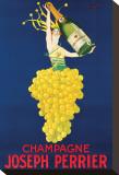 Champagne Joseph Perrier Tableau sur toile