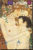 Mère et enfant Tableau sur toile par Gustav Klimt
