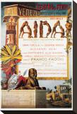 Verdi, Teatro La Fenice, Aida Tableau sur toile
