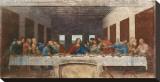 La Cène, vers 1498 Tableau sur toile par Leonardo Da Vinci