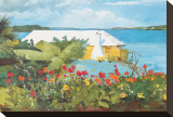Flower Garden and Bungalow  Bermuda  c1899