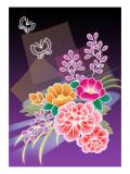 Flower Arrangement Purple