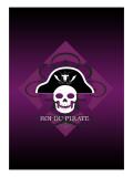 Skull in Purple