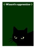Black Cat in Green