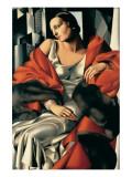 Portrait de Madame Boucard Giclée premium par Tamara De Lempicka