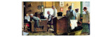 Norman Rockwell Visits a Country Editor Giclée par Norman Rockwell