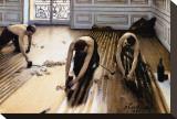 Les raboteurs de parquet Tableau sur toile par Gustave Caillebotte